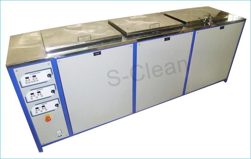 ultrasonic cleaner for industrial three stage